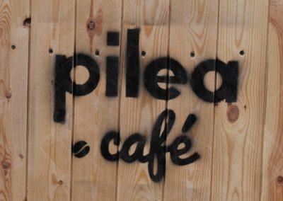 logo pilea café gourmand Beaulieu-sur-Dordogne